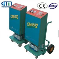 R410a semi-automatic car A/C refrigerant charging unit CM05/06