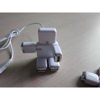 Good price Foldable Robort shape USB HUB, 4 port USB HUB, USB2.0 HUB