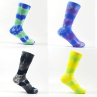Tie dye crew socks,Cotton socks,fashion sock,fashion apparel,women's socks,customization socks