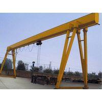 12.5 ton single girder electric hoist gantry crane thumbnail image
