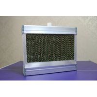 brown/green evaporative cooling pad with aluminium frame