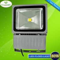 CE/RoHs Bridgelux COB IP65 outdoor 80W led flood light