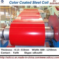 Pre-painted Galvanized Steel Coil / PPGI ( 0.125--1.3MM)