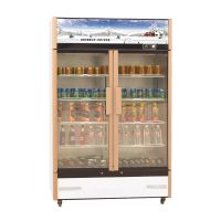 Glass Door Pepsi Cola Drink Cooler Showcase For Sell