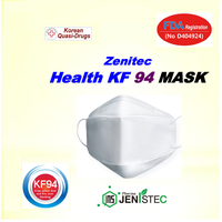 Zenitec Health KF94 MASK (FDA Registration, Korean Quasi-Drugs)