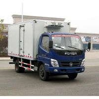 designing fast food refrigerated van truck, Freezer Transport Truck