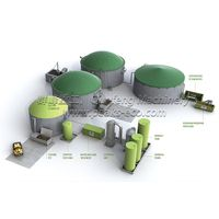 Biogas Energy Plant & AD(Anaerobic Digestion) Plant,waste sorting plant,recycling sorting machine
