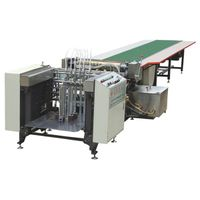 Gluing machine with feeder