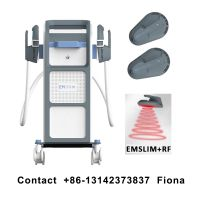EMSculpt NEO RF Radio Frequency EMS Muscle Stimulator Body Fat Burning Abdomen Legs Arms Muscle Buil