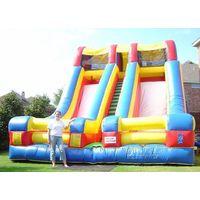 2011 inflatable high slide,huge slide