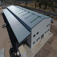 Australian Standard Steel Structure Shed Steel Frame Workshop