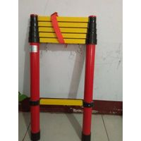 factory supply 2.2m-3.8m fiberglass telescopic ladder thumbnail image
