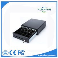 Medium-Size Ball Bearing Slide Metal Cash Drawer with Removable Bill Coin
