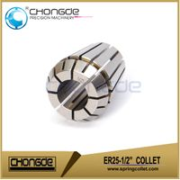 DIN6499B spring collet ER25 machine tools collet chuck accuracy 0.005mm