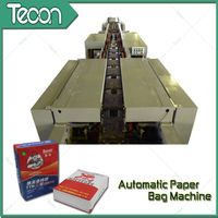 Motor Driven Full Automatic Kraft Paper Machine for Cement