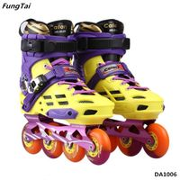 Roller Inline Skate Street Slalon Patins Shoes 4 Wheels for Men Women (DA1006) thumbnail image