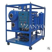Single Stage Vacuum oil filtration machine
