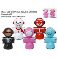 2012 Newest Doll shape 4 port USB HUB, USB2.0 HUB thumbnail image