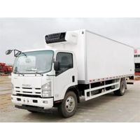 Janpan ISUZU 5-Ton Food Meat FiIsh Ice Cream Refrigerated Truck For Sale