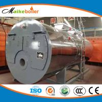 Automatic Oil Diesel Gas Hot Water Boiler