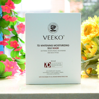7D whitening moisturizing anti-aging silk mask