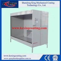 2015 Hot Selling Powder Coating Booth