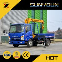 Dongfeng 185HP Model 6.3 Ton Truck Mounted Crane for Sale