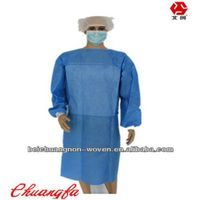 sms breathable nonwoven color fabric for surgical clothing thumbnail image