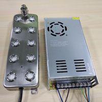 SP010 10 Head Stainless Steel Industrial Ultrasonic Humidifier Water Fogger Mist Maker
