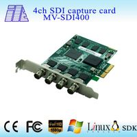 2015 simultaneously capture quad SD/HD/3G SDI Video Capture Card PCI Express x4 1080p 60fps laptop v