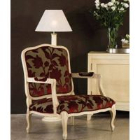 Reproduction French louis xvioval back armchair