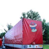 Truck tarp material