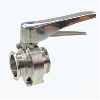 Stainless Steel Sanitary clamp type Butterfly Valve thumbnail image