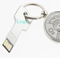 Metal Key shape usb flash drive