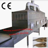 Hot sales seafood microwave drying and sterilization equipment