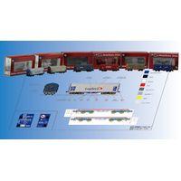 plastic rolling stock, carriage model, scale train, train model