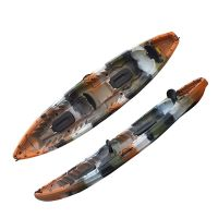 Sit on top two person plastic sea kayak thumbnail image