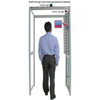 Walk-Through scan virus & flu Body Fever Thermometer gate, clinical thermometer door, fever scanner thumbnail image