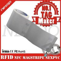 Paper/plastic RFID windshield tag for access control thumbnail image
