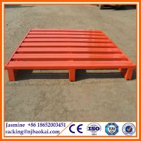 CE Heavy Duty Manufacturer Galvanized Steel Pallet