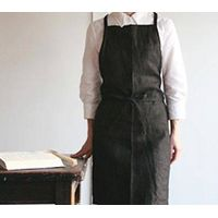 Black Linen apron thumbnail image