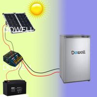 12V DC solar fridge