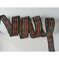 red/green check ribbons