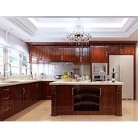 Soild wood kitchen cabinet WK-01