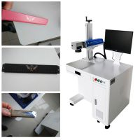 30W Fiber laser machine marking lazer printer engraving lazer machine