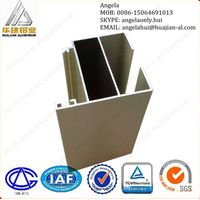 Thermal broken doors and windows insulated aluminum profile
