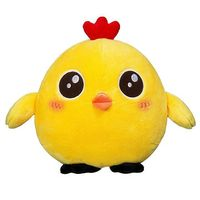 Super Soft Yellow Stuffed Plush Chicken Animal Toys