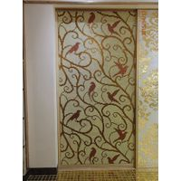 ZF-P26 bird glass mosaic patterns wall design