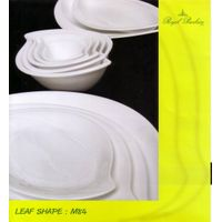 Porcelain Dinnerware (M84-Leaf) thumbnail image
