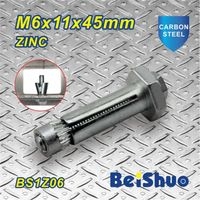 M6X45mm Zinc Plated Expansion Bolt Anchor with High Tensile thumbnail image